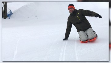 Looking for some winter fun? Try Sled Legs!