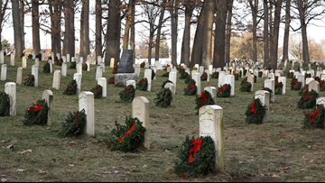 Fallen veterans in Grand Rapids honored with wreaths