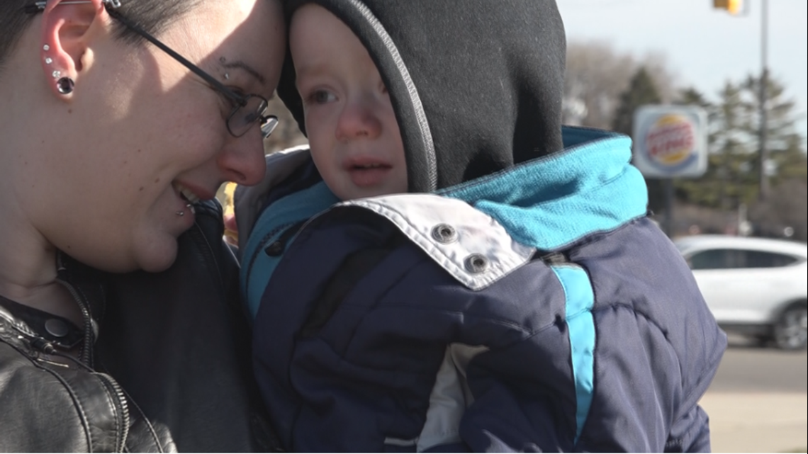 West Michigan mother looking for man who got both her sons to safety