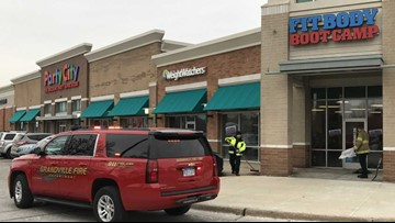 Car crashes into Grandville fitness center