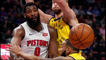 Drummond, Griffin lead Pistons over Pacers 113-109