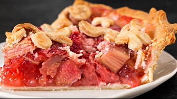 A summertime favorite: Strawberry-Rhubarb Pie