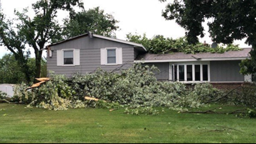 Severe weather causes damage, power outages overnight
