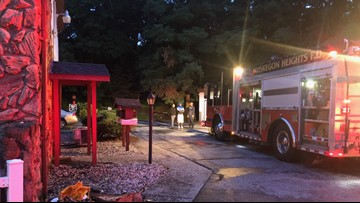 Fire breaks out at Muskegon Heights apartment building