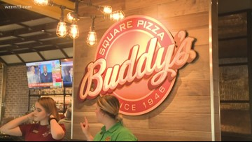 Buddy's Pizza say they plan to open more locations in the Grand Rapids area