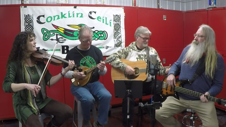 The Conklin Ceili Band shares the sounds of Ireland with 13 ON YOUR SIDE Mornings