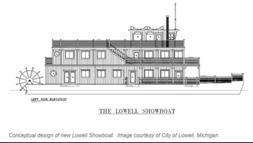 New showboat in the works for Lowell