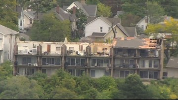 Reconstruction begins on Belknap apartment complex damaged by storm