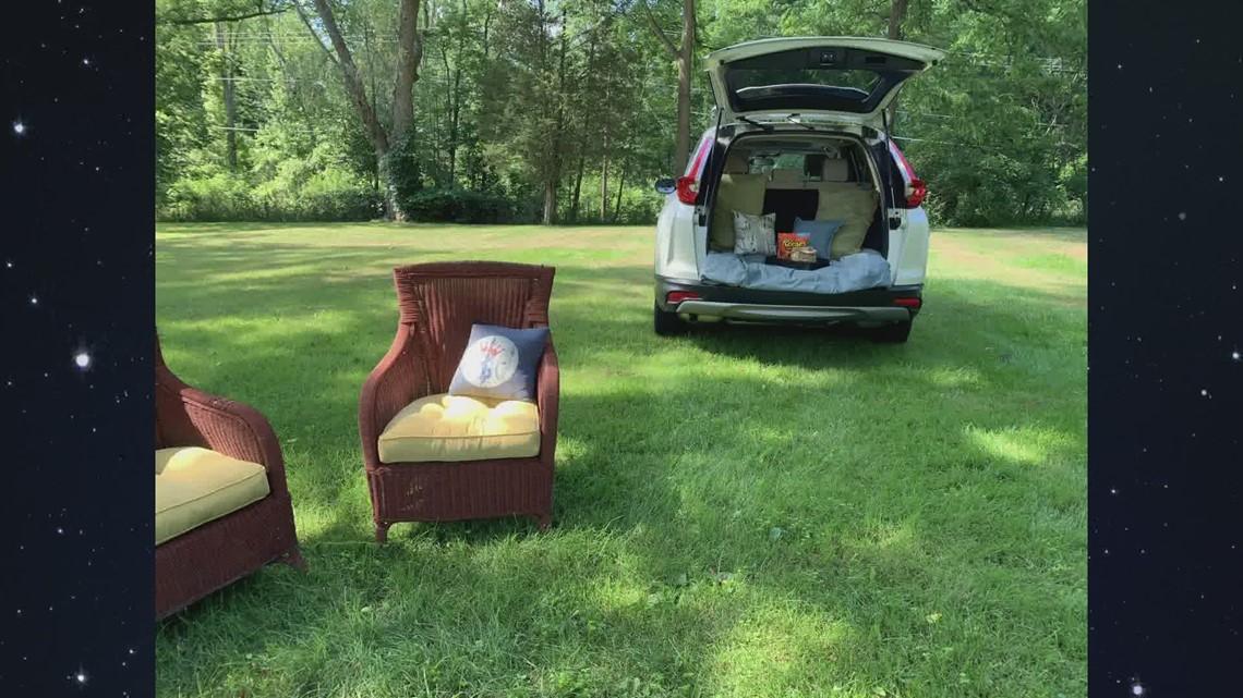 DIY Backyard Drive-In