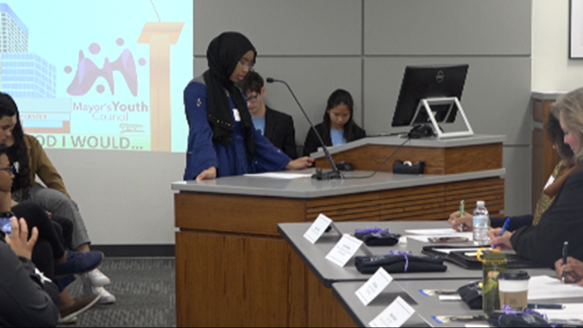 Grand Rapids kids speak about issues in their neighborhoods