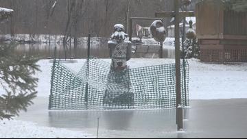Comstock Park neighbors prep for flooding