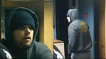 Photos: Authorities searching for Muskegon County break-in suspect