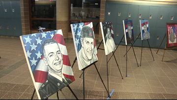 Rain cancels Freedom Cruise, but fallen soldier still honored