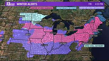 West Michigan snaps into snowy, frigid pattern starting this weekend