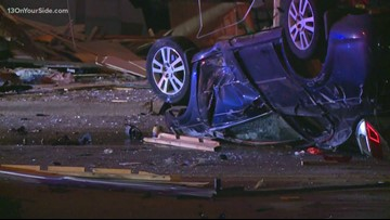 Alcohol and speed factors in Grand Rapids crash