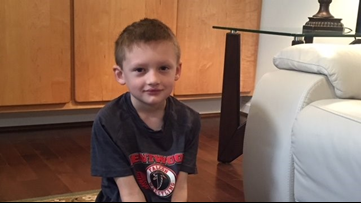 I'll have my peanuts and eat them too! Immunotherapy helps West Michigan boy manage peanut allergy