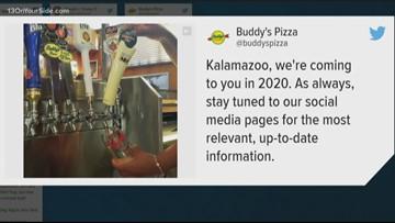 Buddy's opening in Kalamazoo
