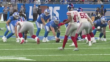 Stafford leads Lions past Giants