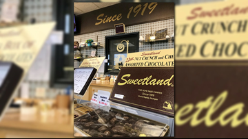 Sweetland Candies thanks customers for 100 years