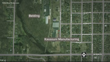 Belding factory shut down for public health concerns