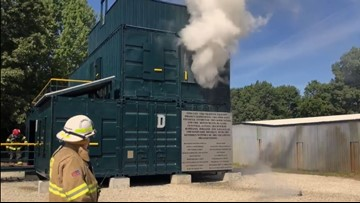 Southwest area fire departments unveil new training facility