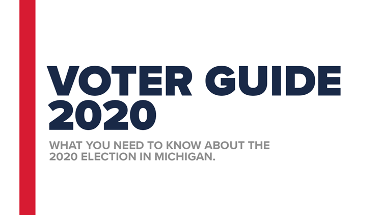 Voter Guide 2020: What you need to know about the election in Michigan