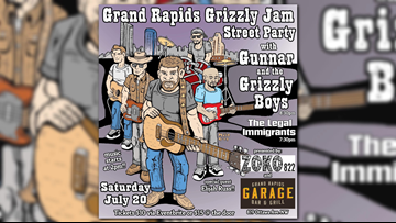 Gunnar and the Grizzly Boys get us ready for the GR Grizzly Jam