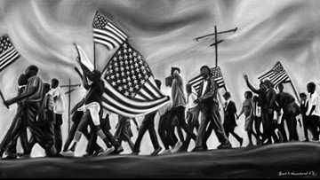 Ford Museum to display nationally-acclaimed Civil Rights art to honor Black History Month