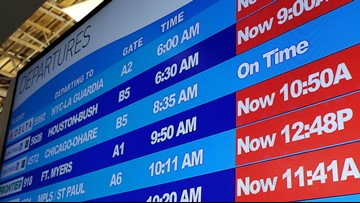 Major airlines' 'glitch' grounded, delayed flights out of Grand Rapids