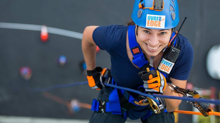 'Over the Edge' rappelling event to support rescue mission
