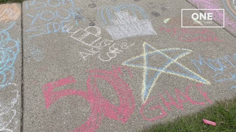 One Good Thing: Chalk Day