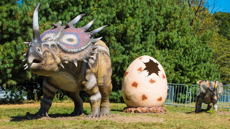 Dinosaurs coming soon to Grand Rapids
