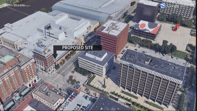 Convention-style hotel proposed for DeVos Place
