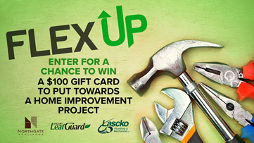 Enter for a chance to win a $100 VISA Gift Card for your home improvement project!
