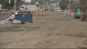 Kent County road crews confident they'll complete construction projects by mid-November