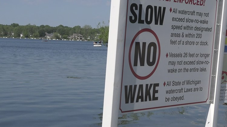 Homeowners in Spring Lake worried about their property