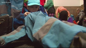 OML: Forest kindergarten in the winter