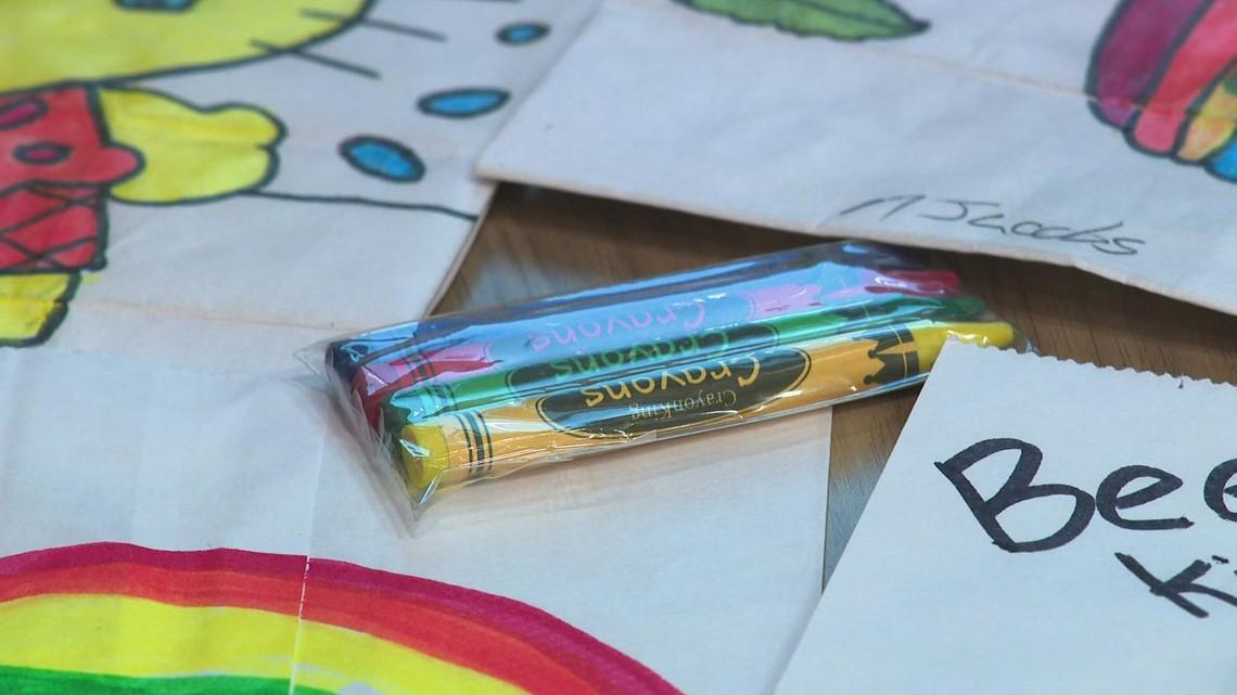 Kids' Food Basket seeks decorated brown bags for kids in need