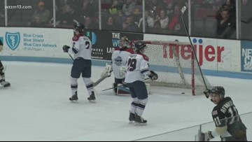 Muskegon Lumberjacks take early lead to beat the Flying Aces