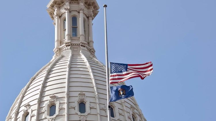 Gov. Whitmer to lower flags to half-staff honoring fallen firefighters