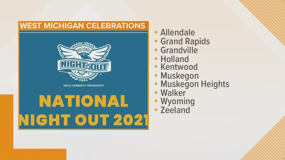National Night Out begins Tuesday in West Michigan
