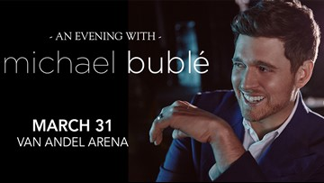 CONTEST COMPLETE - Enter to win two tickets to Michael Bublé at Van Andel Arena!