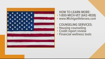 Michigan vets get free financial counseling