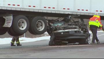Semi-truck vs vehicle accident | wzzm13 com