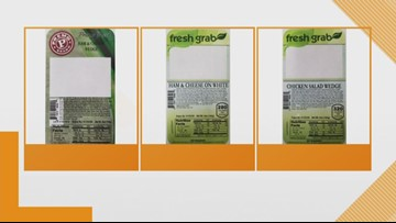 Wedge sandwiches recalled due to Listeria concerns