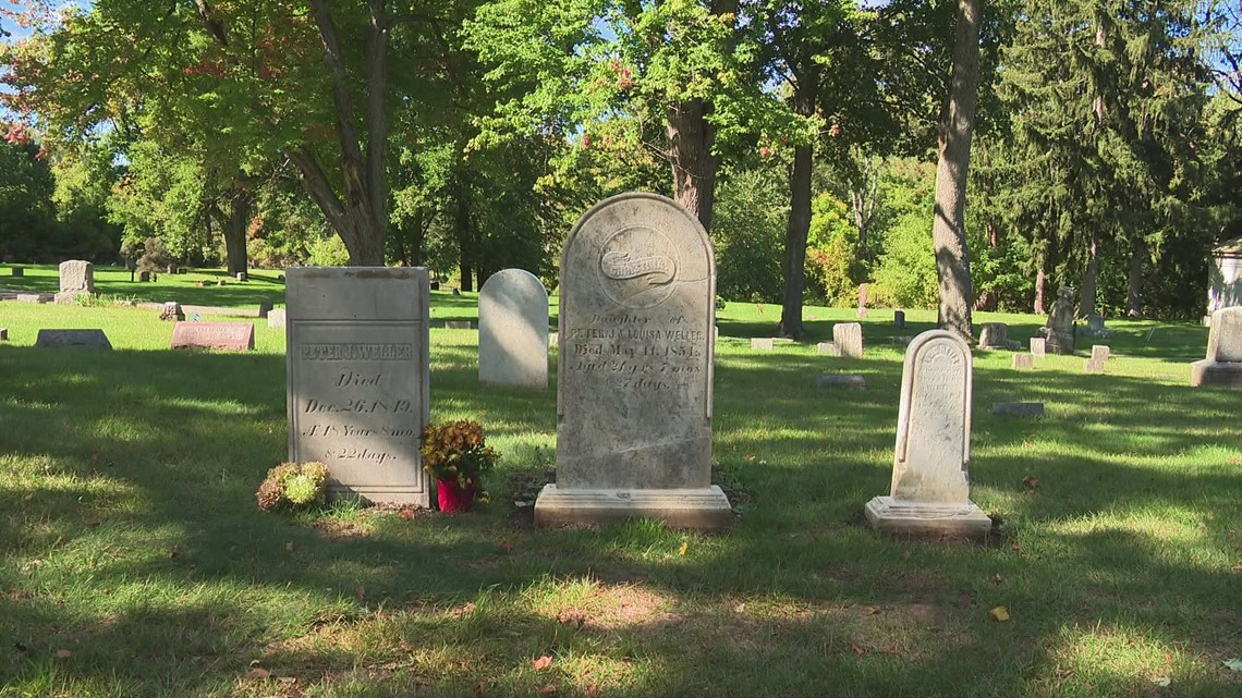 WHAT THE FUDGE: Headstone used to make fudge returned to gravesite after 146 years