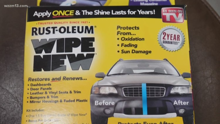 Restore, renew, and protect your vehicle: Putting 'Wipe New' to the test