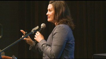 Whitmer pushes 45 cent gas tax at Grand Rapids town hall