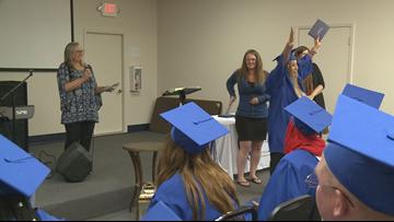 Comstock Park grandmother graduates from high school
