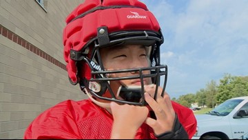 Allendale senior shines for Falcons despite disability